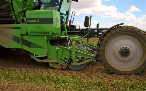 AVR_ACC option Puma 3 harvester