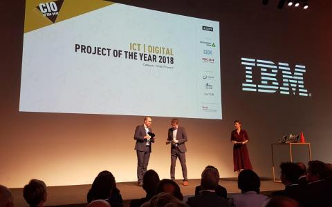 CIO of the Year | AVR remporte l'ICT Project of the Year | IOT